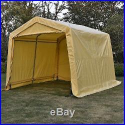10x15x8ft Auto Shelter Logic Portable Garage Storage Shed Canopy Carport Tent & 10x15x8ft Auto Shelter Logic Portable Garage Storage Shed Canopy ...