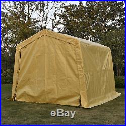 10x15x8ft Auto Shelter Logic Portable Garage Storage Shed Canopy Carport Tent