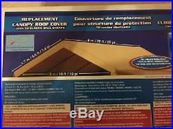 10x20 CARPORT REPLACEMENT COVER Costco Canopy Canvas Roof Top Car Port Shelter