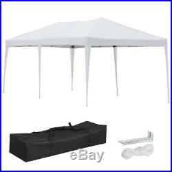 10x20' EZ POP UP Canopy Gazebo Folding Wedding Party Event Tent Patio WithBag