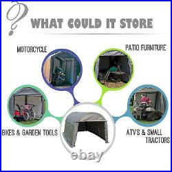 10x20 FT Canopy Carport Tent Outdoor Storage Shed Car Shelter Water UV Proof XXL