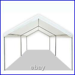 10x20 FT Carport Canopy Tent Steel Heavy Duty Outdoor Portable Car Shelter 6 Leg
