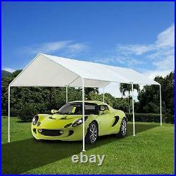 10x20 FTHeavy Duty Garage Carport Canopy Tent Steel Carport Portable Car Shelter