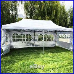 10x20 ft EZ Instant Pop up Canopy Carport, Party Tent Folding Heavy Duty Gazebo