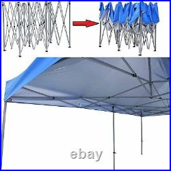 10x20 ft Heavy Duty Height Adjustable Instant Pop up Folding Shelter Canopy Tent