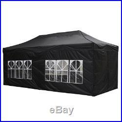 10x20Ft Outdoor EZ Pop Up Canopy Folding Wedding Party Tent Sidewall Bag