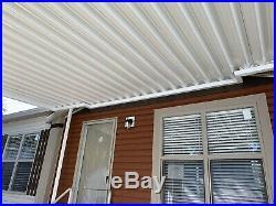 10x24.025 Gauge Aluminum Awning Awnings Patio Cover