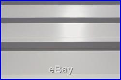 10x24x7 Arrow ShelterLogic Metal Carport CPHC102407 Wind & Snow Rated Charcoal