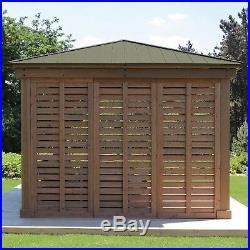 12' Gazebo Privacy Wall Fits 12x12 and 12x14 Wood Gazebo