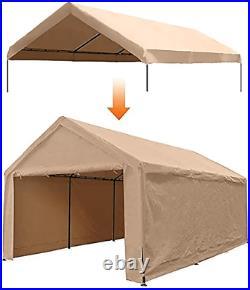 12 X 20 Feet Portable Heavy Duty Canopy Garage Tent Carport Car (Frame Not)