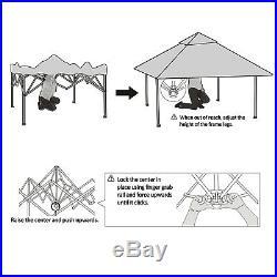 12' x 12'EZ Pop Up Canopy Tent Instant Outdoor Gazebo Canopy Party Wedding Tent