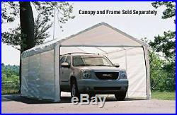 12 x 20 Outdoor Canopy Enclosure Kit Portable Car Port Shelter Cover Tent Garage