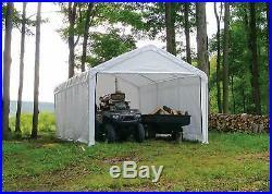 12X20 Garage Tent Carport Car Shelter Cover Enclosure Zipper Side Walls Kit