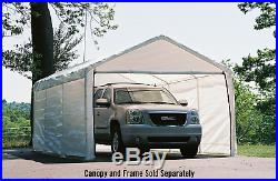 12x20 ft Outdoor Portable Shelter Garage Parking Canopy Steel Tent Storage Shed