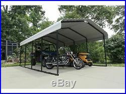 12x20x7 Arrow Shed ShelterLogic Metal Carport Canopy CPH122007 Wind & Snow Rated