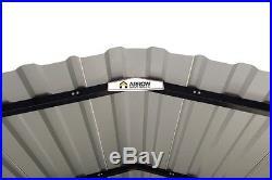 12x24x7 Arrow Shed ShelterLogic Metal Carport Canopy CPH122407 Wind & Snow Rated