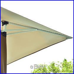 13x13 Folding Gazebo Canopy Shelter Awning Tent Patio Garden Outdoor Companion