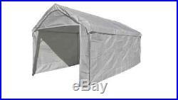 14 X 20 Heavy Duty 5PC Valance Canopy Enclosure Tarp Carport Cover, No Frame