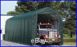 15x36x16 Peak ShelterLogic RV Boat Portable Garage Canopy Carport 79431