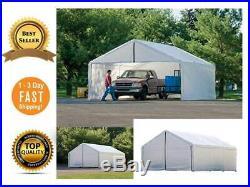 18 x 20-Feet Tent Car Canopy Carpa Kit Waterproof Awnings Vehicle Shelter Garage
