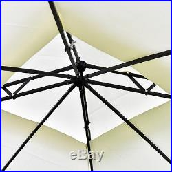 2-Tier 10x10 Gazebo Canopy Shelter Patio Wedding Party Tent Outdoor Awning New