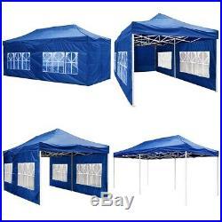 20x10' Waterproof Fair Shelter Car Canopy Outdoor Wedding Pop Up Tent Heavy Duty