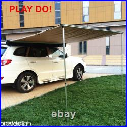2x 2.5M Car Side Awning Roof Top Tent Oxford Sun Shade Shelter Car Awning Tent