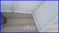 30 Canyon Red Aluminum Awning Window or Door Canopy Kit- 30W x 24P x 12D