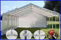 32'x16' Budget PVC Wedding Party Tent Canopy Shelter White
