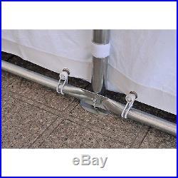 32'x16' Heavy Duty Outdoor Carport Canopy Wedding Party Tent Gazebo Garage White