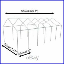 40' x 20' Outdoor Canopy Party Wedding Tent Gazebo Pavilion Event 4-side panels