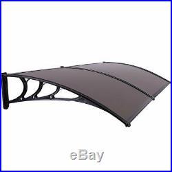 40x80 Outdoor Door Window Awning Patio Canopy Cover Sun Shade Rain UV Protected