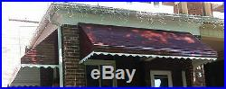46 Imperial Brown Aluminum Awning Window or Door Canopy Kit- 46W x 36P x 15D