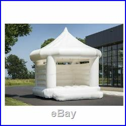 5x5x4.7mH Portable White Inflatable Wedding Party Bouncy Castle Decor Canopy