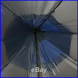 6-7 Person Huge Outdoor Sleeping Tent with Mesh Windows & Three-Season Design