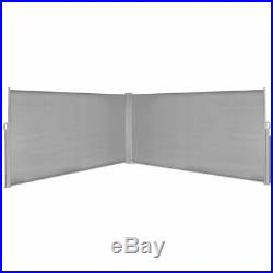 63x236 Sunshade Patio Retractable Wall Side Awning Privacy Wind Screen Divide