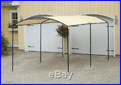 9x16 Outdoor Canopy Enclosure Kit Car Port Shelter Cover Tent Steel Garage New