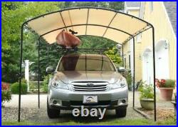 9x16 ShelterLogic Monarc Canopy Carport Portable Shade Party Tent 25866 25881
