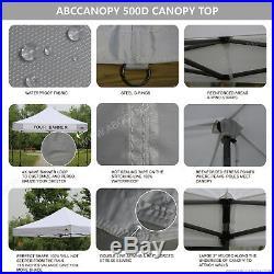 ABCCANOPY 10x10 AbcCanopy Pop up Canopy Commercial Shelter Backyard Gazebo