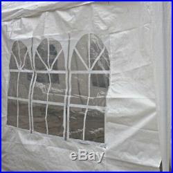 ALEKO Carport Car Shelter Canopy Picnic Gazebo Party Tent 20 x 10 Ft White