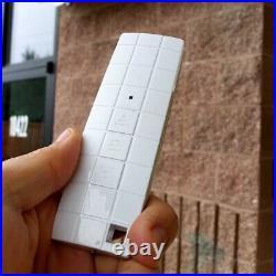 ALEKO Sunshade Half Cassette Retractable Patio Deck Awning 16x10 ft Burgundy