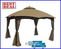 APEX GARDEN Replacement Canopy Top Lowe's Allen Roth 10X12 Gazebo #GF-12S004B-1