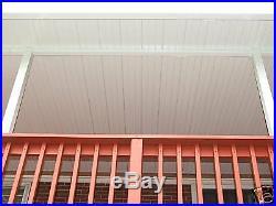 Aluminum awning, patio cover set back beam 24 foot