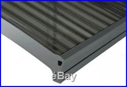 Arizona Aluminum Wave Carport in Gray ID 3803107