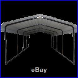 Arrow Carport, 12 ft. X 20 ft. X 7 ft. Eggshell