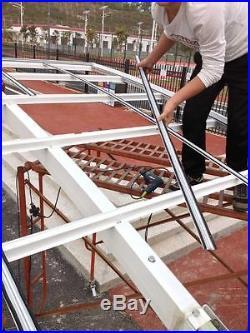 Beautiful Auminum alloy frame carport, canopy, gazebo, garage, car shelter, awning