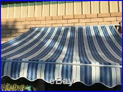 Best Retractable Awning 10ft×8ft For Patio Cover Sunny Shelter Yard Decoration