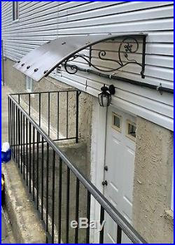 Canopy Awning For Door Or Window custom Made To Size W50 X D40-46