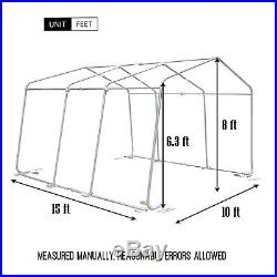 canopy carport tent auto shelter car storage shed cover outdoor awning portable with carport fr 3 autos
