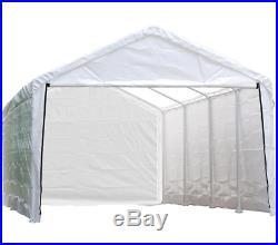 Canopy Enclosure Kit 12 ft X 30 ft Waterproof Seams Garage Car UV Protection